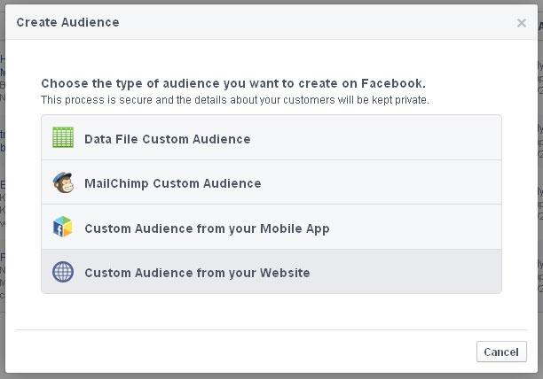 Retargeting Facebook 2