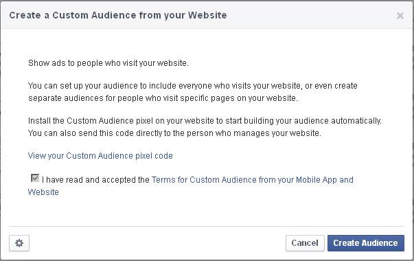 Retargeting Facebook 3