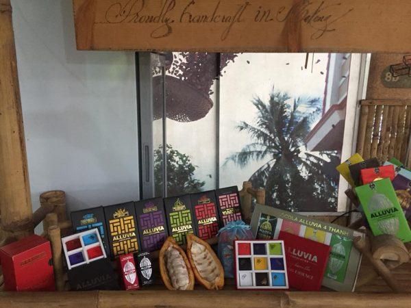 Alluvia là thương hiệu sản xuất chocolate tại Việt Nam