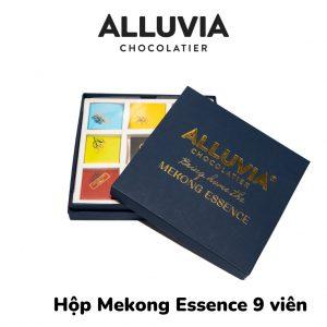 Hộp quà tặng socola nguyên chất Mekong Essence 9 viên