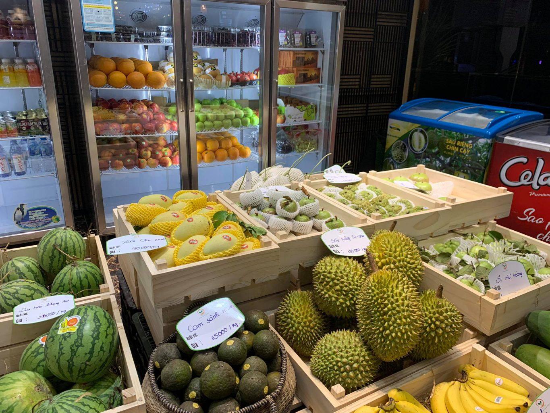 Organic shop in Danang