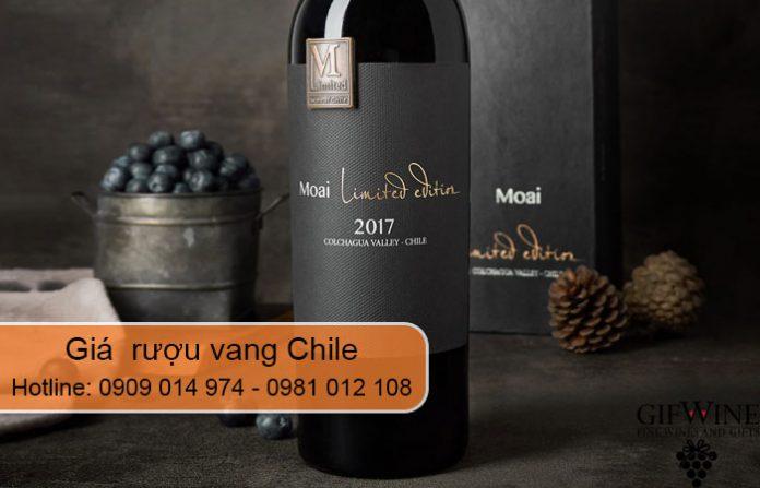 giá rượu vang chile