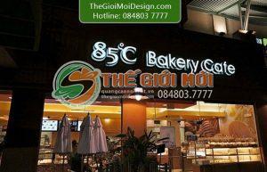 biển quảng cáo quán cafe