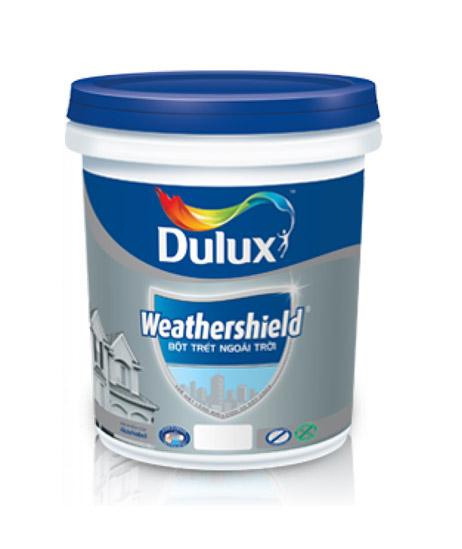Bột trét tường ngoài trời Dulux Weathershield - Thùng 25kg