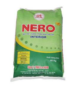 Bột trét tường nội thất - NERO TRONG - Bao 40kg