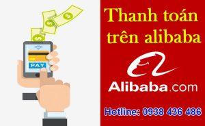 thanh toán trên alibaba