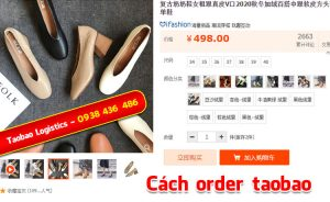 cách order taobao