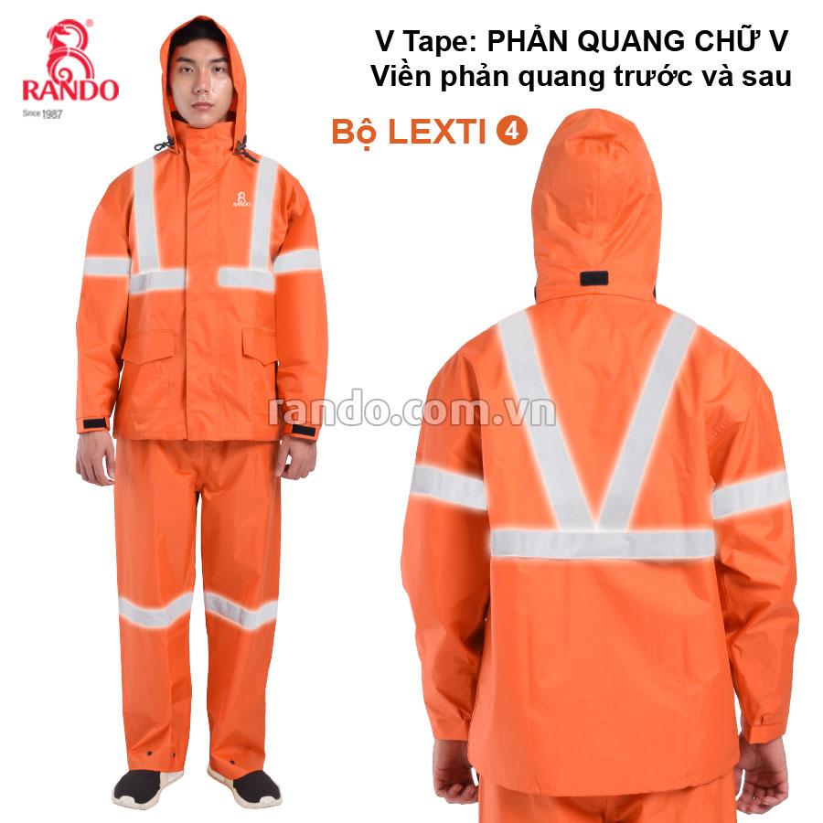 Bộ áo mưa Lexti 4 V-Tape