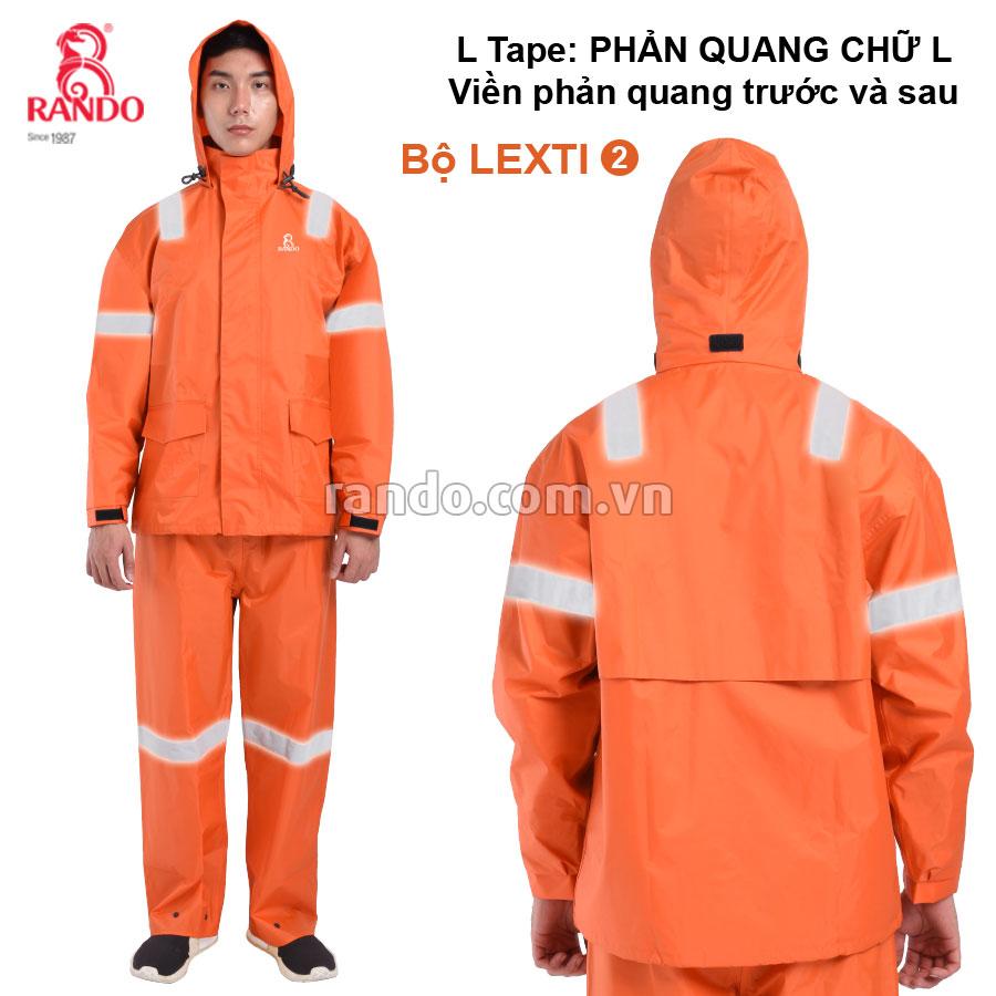 Bộ áo mưa Lexti 2 L-Tape