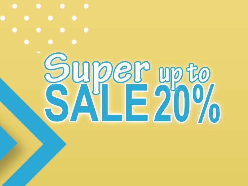 RANDO khuyến mãi SUPER SALE upto 20%