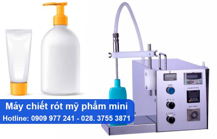 máy chiết rót mỹ phẩm mini