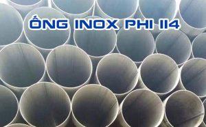 ống inox phi 114
