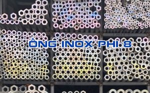 ống inox phi 8