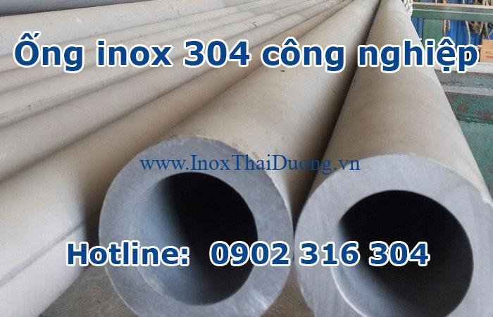 ống inox 304 công nghiệp