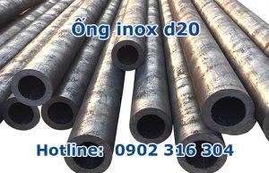 ống inox d20