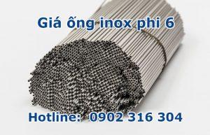 giá ống inox phi 6