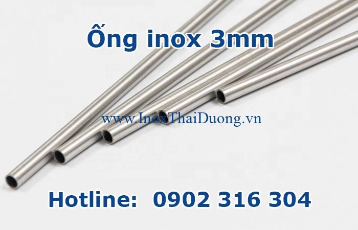 ống inox 3mm