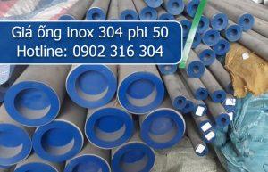 giá ống inox 304 phi 50