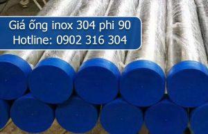 giá ống inox 304 phi 90