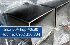 inox 304 hộp 40x80