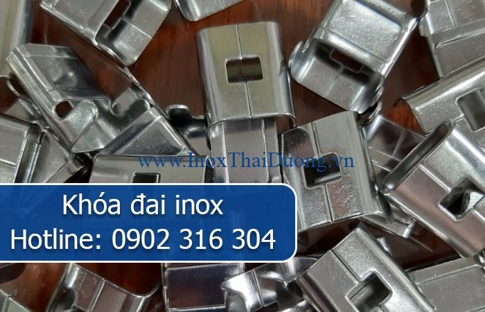 khóa đai inox