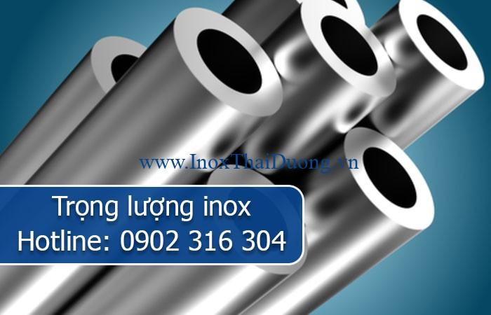 trọng lượng inox