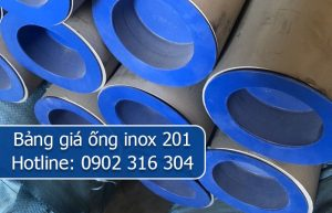 bảng giá ống inox 201