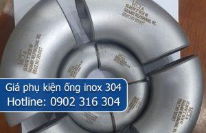 giá phụ kiện ống inox 304
