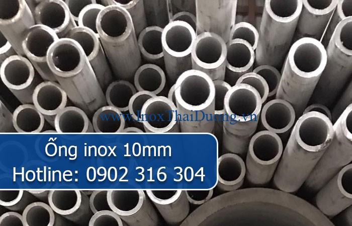 ống inox 10mm