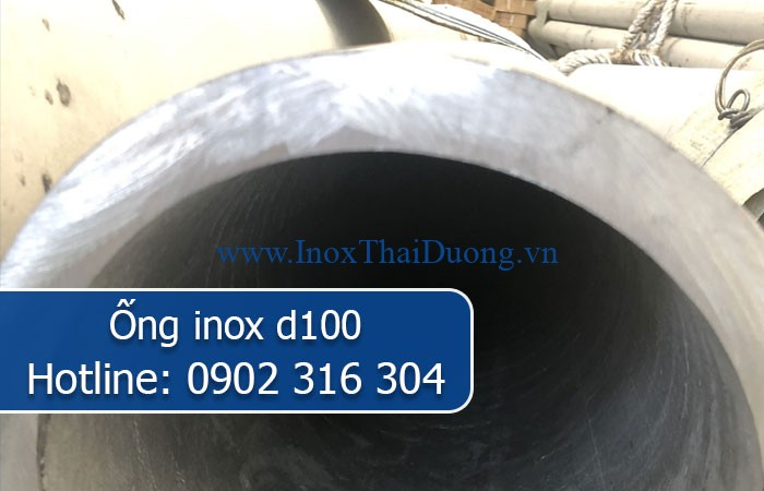 ống inox d100