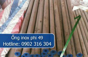 ống inox phi 49