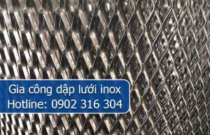 gia công dập lưới inox