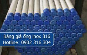 bảng giá ống inox 316