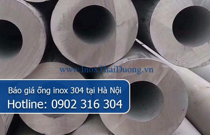 báo giá ống inox 304 tại hà nội