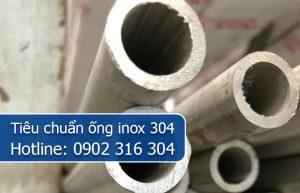 tiêu chuẩn ống inox 304