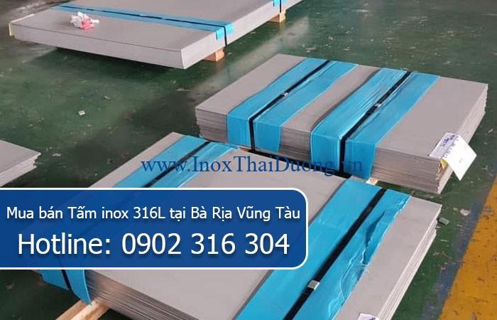 Mua bán Tấm inox 316L tại Bà Rịa Vũng Tàu