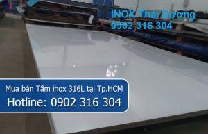 Mua bán Tấm inox 316L tại Tp.HCM