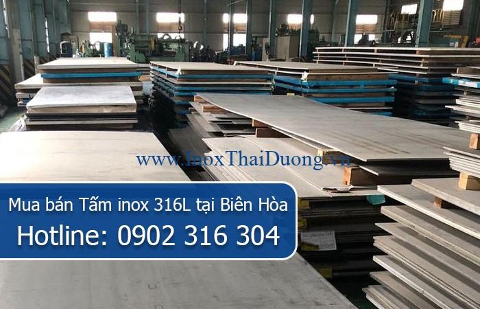 Mua bán Tấm inox 316L tại Biên Hòa