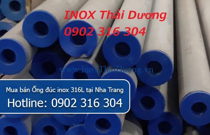 Mua bán Ống đúc inox 316L tại Nha Trang
