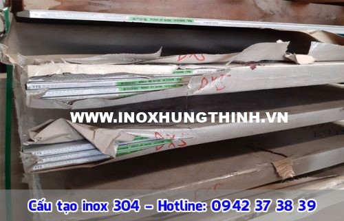 cấu tạo inox 304
