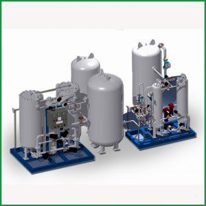 Gas Station (O2, N2, Ar, CO2, N2O, C2H2....)