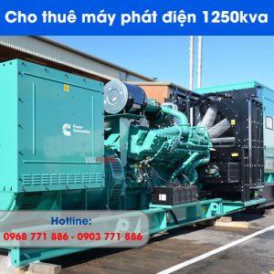 cho thuê máy phát điện 1250kva