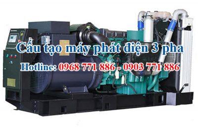 cấu tạo máy phát điện 3 pha