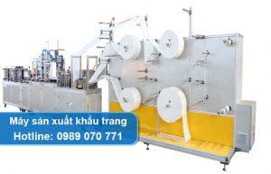 máy sản xuất khẩu trang