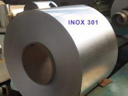 độ cứng của inox 301