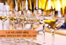 lợi ích rượu vang