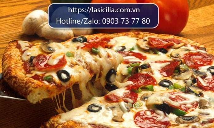 cung cấp nguyên liệu làm bánh pizza